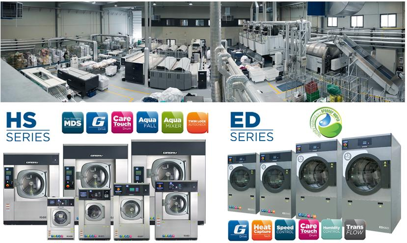Gamma prodotti per lavanderie